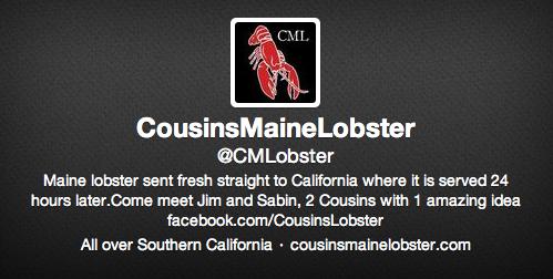 Cousins Maine Lobster