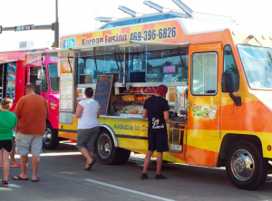 Say Kimchi at Texas Food Truckin' Fest in Arlington, TX.