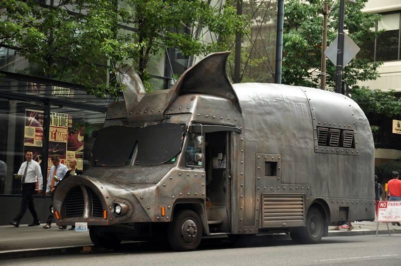 Metal Food Truck Trailer